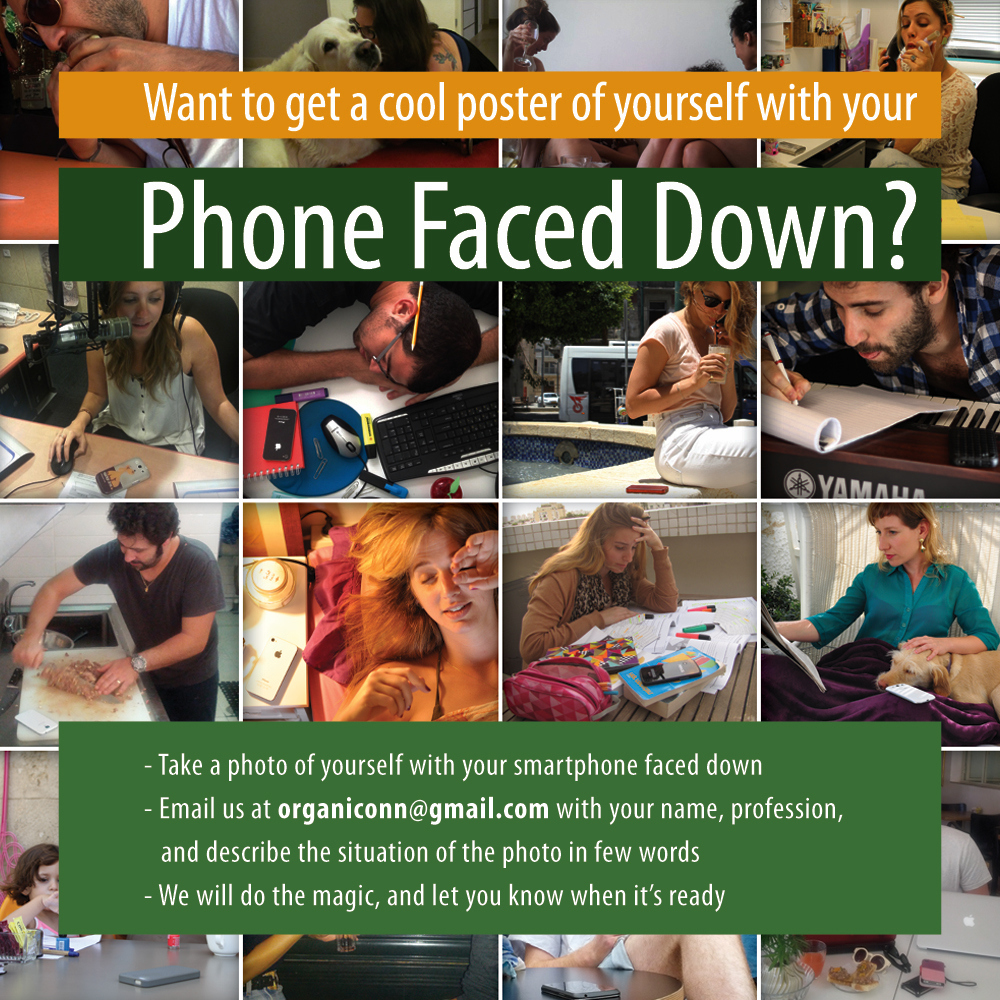 Get your own Phone Face Down poster