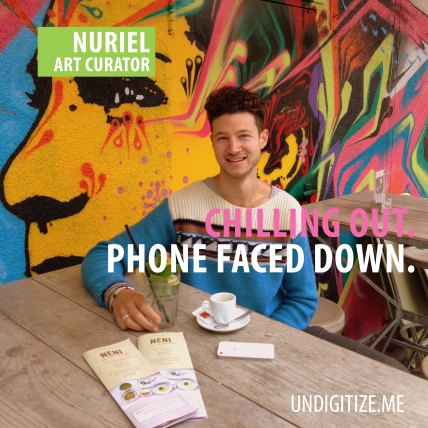 Chilling Out. Phone Faced Down.