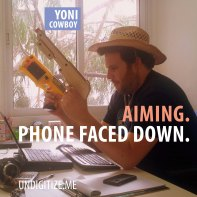 Aiming. Phone Faced Down.